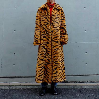 Vintage   Tiger Fake Fur Coat