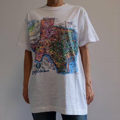 VINTAGE   TEXAS MAP TSHIRTS