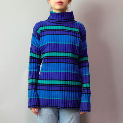 Vintage   Boder Rib Knit
