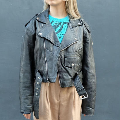 Vintage   Leather Raiders Jacket