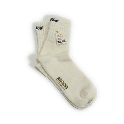 DEAD STOCK MOSCHINO SOX