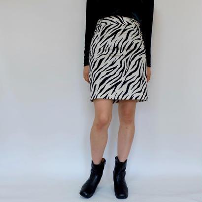 Vintage Zebra Skirt