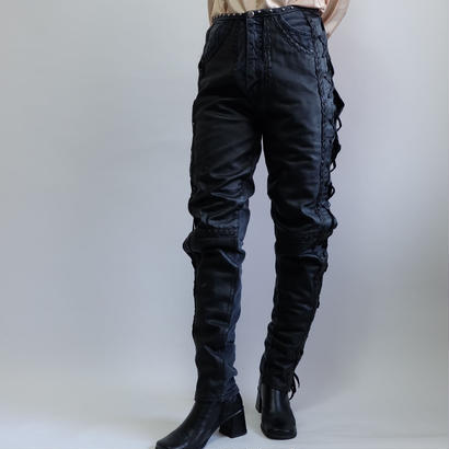 VINTAGE   LEATHER AMIAGE PANTS