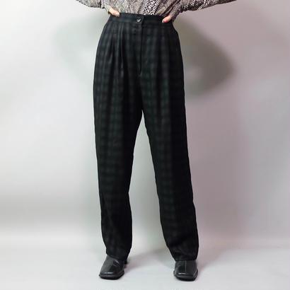 Vintage   Check Slacks Pants