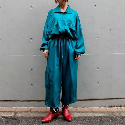 Vintage   Silk Jumpsuits