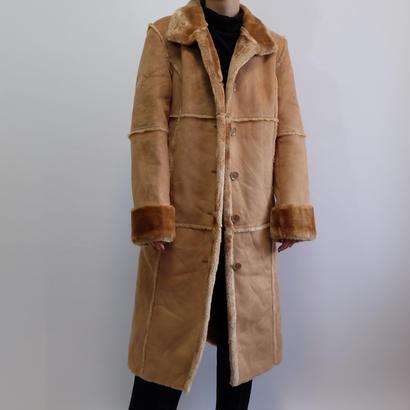 VINTAGE MOUTON LONG COAT