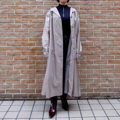 Vintage   Bigsize Shiny Long Coat