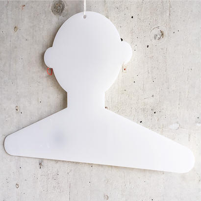 Humanoid hanger 人型ハンガー/乳半色