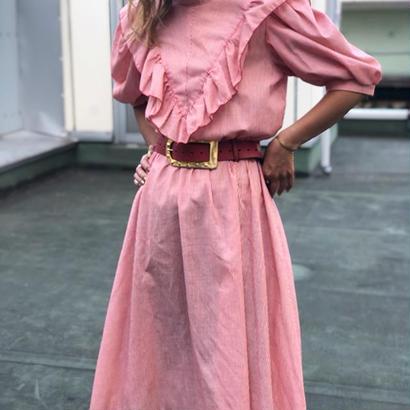 Hickory Ruffle Dress