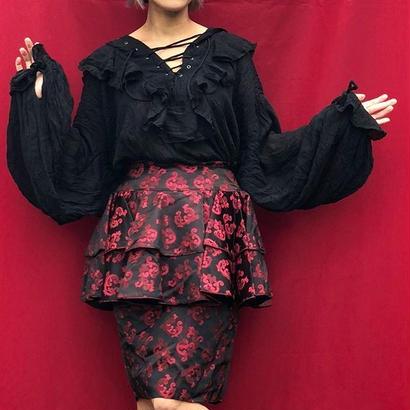 USmade Peplum Skirt
