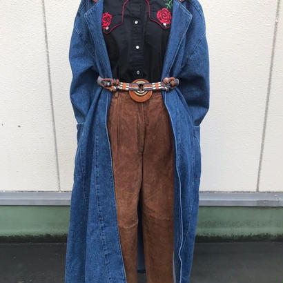 USmade Denim Coat