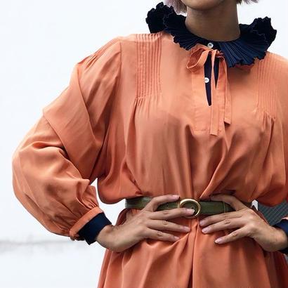 Oversize Silk Dress
