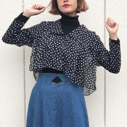 80s Cropped Blouse