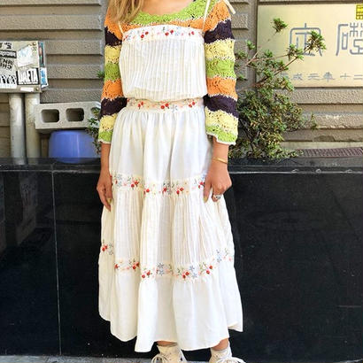 Mexican Embroidery Dress(As is)