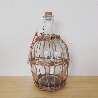 バスケ&ガラス ワインロングボトル
