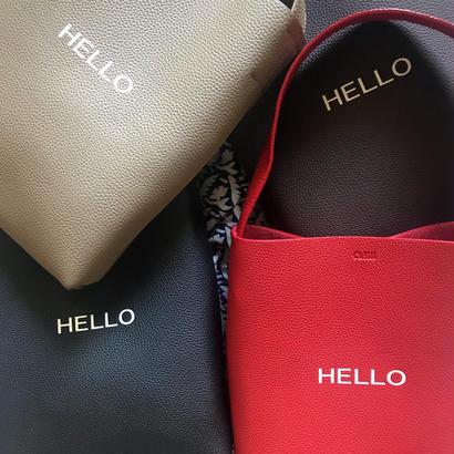 HELLO  logo [ dhuta bag ] 全4色