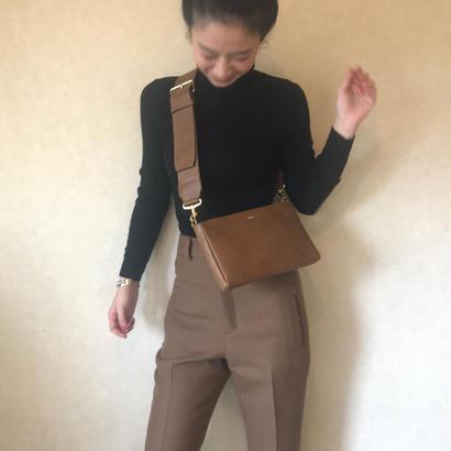 [ widebelt  shoulderbag ] vintage  beige