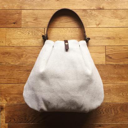ぷっくりバッグ(ベルトは風呂敷バッグのベルトとしても!)