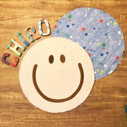 マシュマロ SMILY Café マット ~チョコフェイス~ (ミルクチョコ)size: 50cm x 50cm  style no. 1707003M