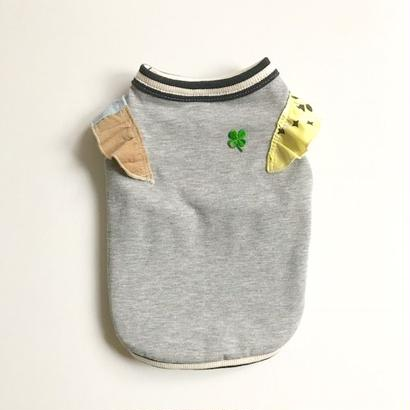 【CHARITY】〔防虫・防ダニ・抗菌〕CLOVER  CHEER♡UP! モステクトタンク  size: 3S, XXS, XS, (MIXグレー)style no.1707001HCPG