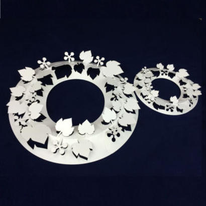 Paper Wreath M size