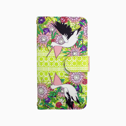 Smartphone case-Wildflower wreath-