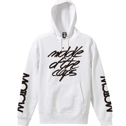 TRIPLE SIGN HOODIE (WHITE)