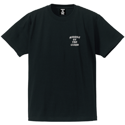 CLAPS OE POINT M.O.C  T-SHIRT  (BLACK)