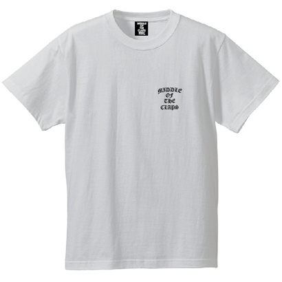 CLAPS OE POINT M.O.C  T-SHIRT  (WHITE)