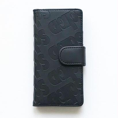 CLAPS BASIC 型押し手帳型 iPhoneCase 6/6s/7/8兼用
