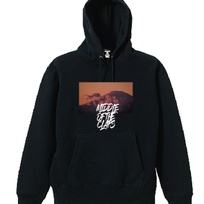 CLAPS FIGHT MOUTAIN HOODIE (BLACK)
