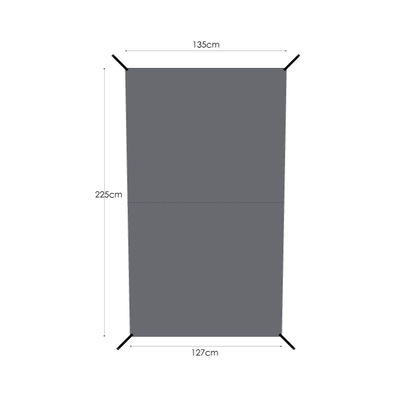 MURACO GROUND SHEET for 2P TENT