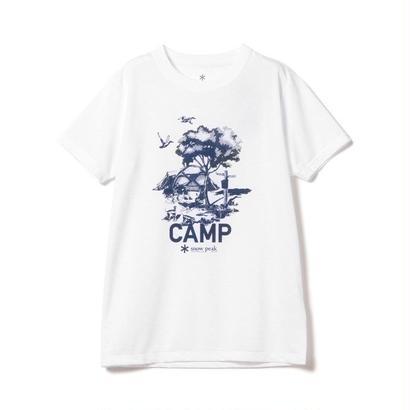 snow peak Printed Tshirt Camp Field
