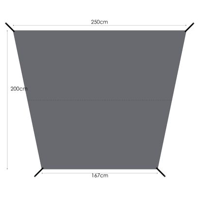 MURACO GROUND SHEET for 4P TENT