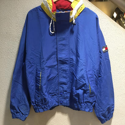 TOMMY HILFIGER / 90's Sailing Jacket size : XL BLU/YLW/RED