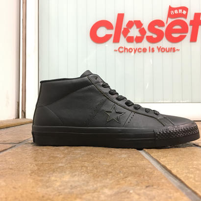 CONVERSE / CONS, ONE STAR PRO MID size : US8 (26.5cm) BLK