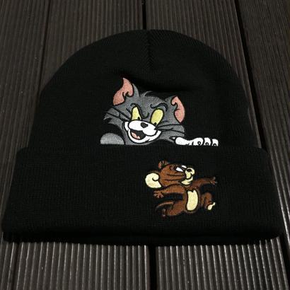 """SUPREME / Tom&Jerry Beanie BLK """"2016A/W"""""""