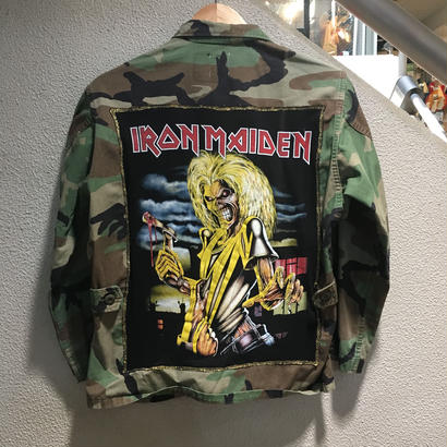 "【Ladies】Vintage Custom / BDU Jacket ""IRON MADEN"""