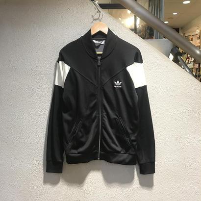 adidas / Track Jacket size : L BLK 884-25