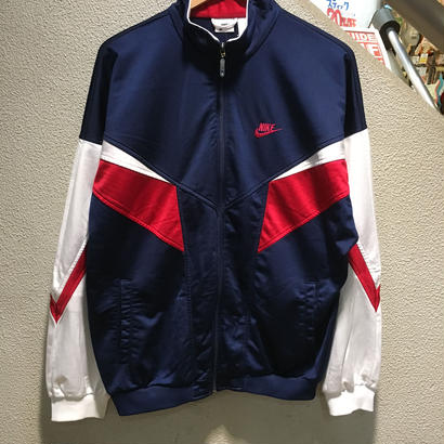 NIKE / 90's Vintage Track Jacket size : L〜XL相当 NVY/WHT/RED