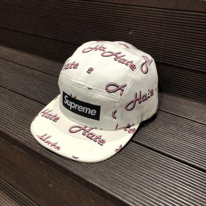 SUPREME / Hate Camp Cap 2013A/W
