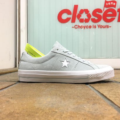 CONVERSE / CONS, ONE STAR SUEDE OX PRO LBLU