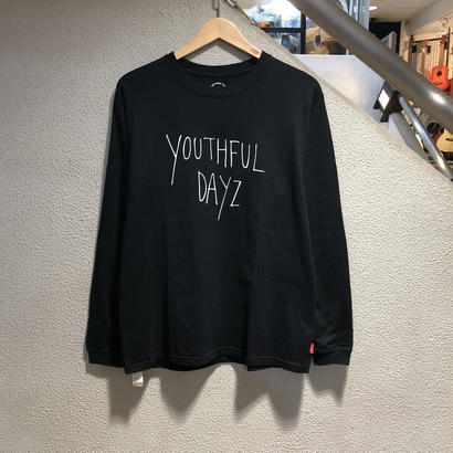 WTAPS / YOUTHFUL DAYS LS TEE size : 2(M)、BLK