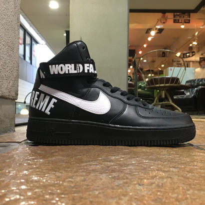 SUPREME×NIKE / AIR FORCE 1 HIGH SUPREME SP size : US10 BLK