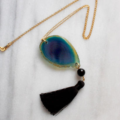 blue layer neckless