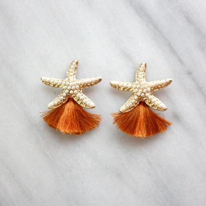 starfish tassel brown