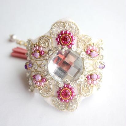 Marie Bracelet Pink