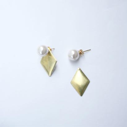 Gold plate pearl