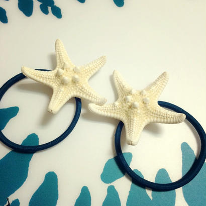 starfish hair accessory