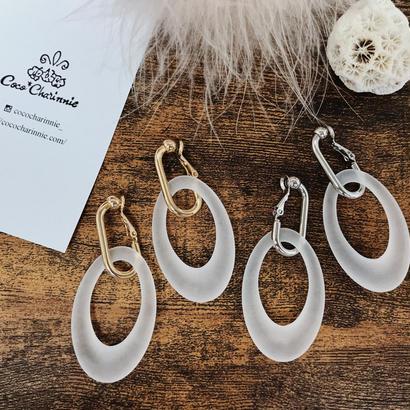Frost hoop  earring